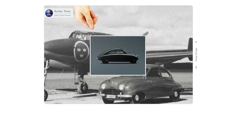Saab image slideshow