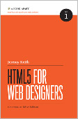 HTML5 for Web Designers book cover
